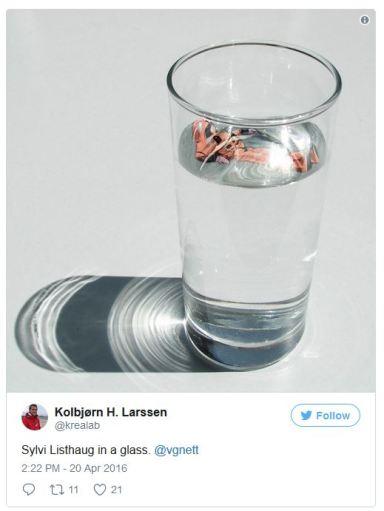 sylvi listhaug water.JPG