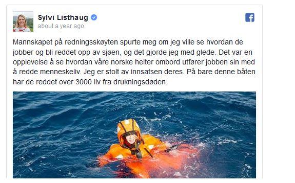sylvi listhaug water3.JPG